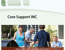 Tablet Preview of coresupportinc.org